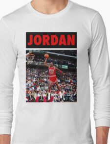 Michael Jordan (Dunk Red) Long Sleeve T-Shirt
