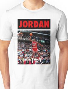 Michael Jordan (Dunk Red) Unisex T-Shirt