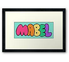 """Mabel Pine's """"Mabel"""" Framed Print"""