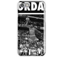 Michael Jordan (Dunk BW) iPhone Case/Skin