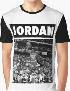 Michael Jordan (Dunk BW) Graphic T-Shirt