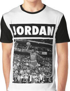 Michael Jordan (Dunk BW) Graphic T-Shirt