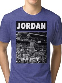 Michael Jordan (Dunk BW) Tri-blend T-Shirt