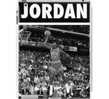 Michael Jordan (Dunk BW) iPad Case/Skin