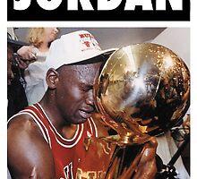 Michael Jordan (Championship Trophy) by iixwyed