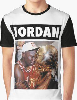 Michael Jordan (Championship Trophy) Graphic T-Shirt