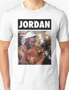 Michael Jordan (Championship Trophy) Unisex T-Shirt