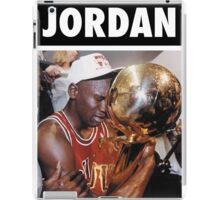 Michael Jordan (Championship Trophy) iPad Case/Skin