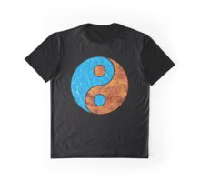 Water nd Fire Graphic T-Shirt