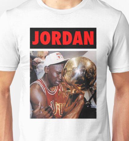 Michael Jordan (Championship Trophy Red) Unisex T-Shirt