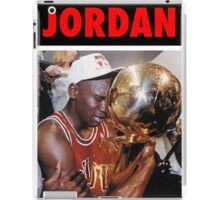 Michael Jordan (Championship Trophy Red) iPad Case/Skin