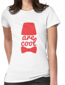 Bowties/Fezzes are Cool Womens Fitted T-Shirt