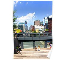 High Line NYC Poster
