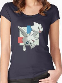 Togetic Print Women's Fitted Scoop T-Shirt