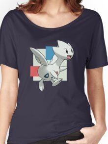 Togetic Print Women's Relaxed Fit T-Shirt