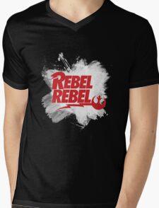 Rebel Rebel Alliance Mens V-Neck T-Shirt