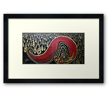 Dipped In Gold.. Framed Print