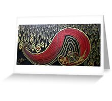 Dipped In Gold.. Greeting Card