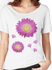 Pink Daisies Women's Relaxed Fit T-Shirt