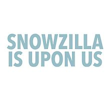 Winter Storm Jonas (Snowzilla) by typeo