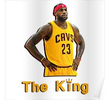 Lebron James: The King Poster