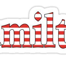Alexander Hamilton Musical Sticker