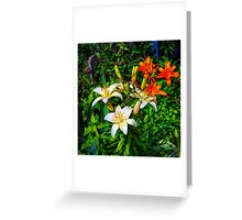Consider the Flower Greeting Card
