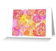 Flower Cracker Greeting Card