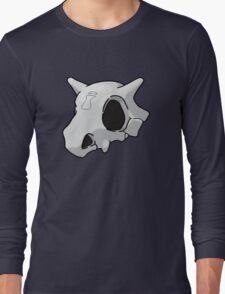 Cubone Sand Village Skull Long Sleeve T-Shirt