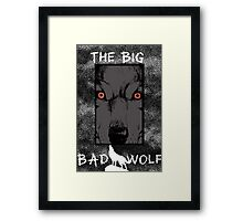 The Big Bad Wolf, fables / the wolf among us Framed Print
