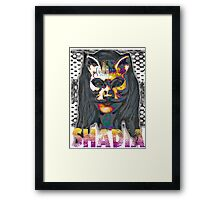 Shadia Framed Print