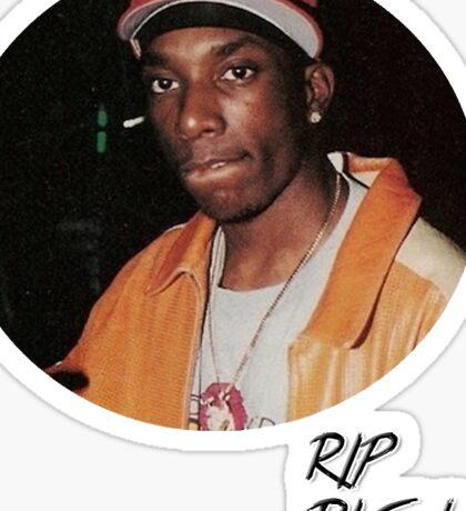 RIP Big L Rapper Sticker