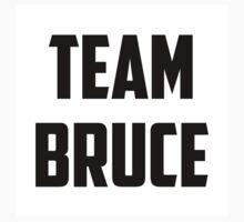 Team Bruce - Black on White One Piece - Short Sleeve