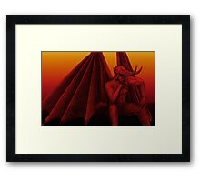 Lord of the underworld Framed Print