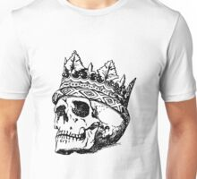 Skull with crown Unisex T-Shirt