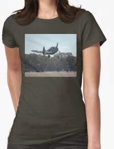 Take-off: Boomerang @ Temora Airshow 2007 Womens Fitted T-Shirt