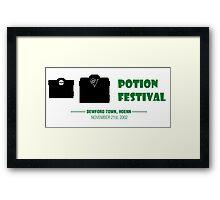 Potion Festival, Pokemon Framed Print
