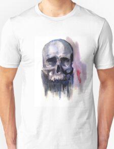 Mortality in Watercolour T-Shirt