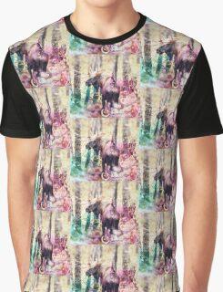Bull Moose Graphic T-Shirt
