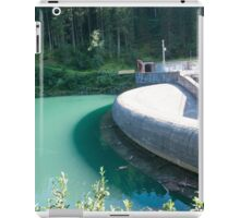 Gmund Dam and power plant Near Gerlos Pass, Zillertal, Tirol, Austria  iPad Case/Skin