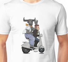 Ride on Vespa Unisex T-Shirt