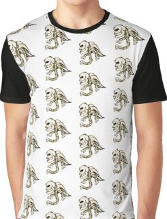 Angel Skull Graphic T-Shirt
