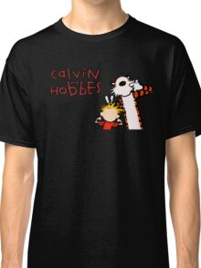 Minimalist Calvin and Hobbes Classic T-Shirt