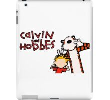 Minimalist Calvin and Hobbes iPad Case/Skin
