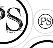 Pitserpent Paper Multiple Logo Sticker