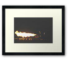 Jet Truck @ Avalon International Airshow Framed Print