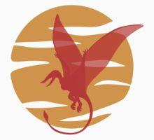 Flying Pterosaur Kids Tee