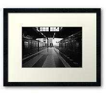 S-Bahnhof Alexanderplatz Framed Print