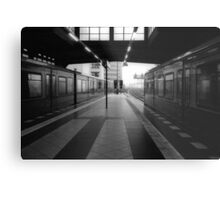S-Bahnhof Alexanderplatz Metal Print