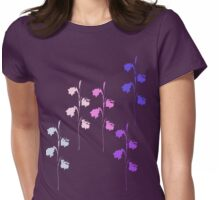 Wildflower Womens Fitted T-Shirt